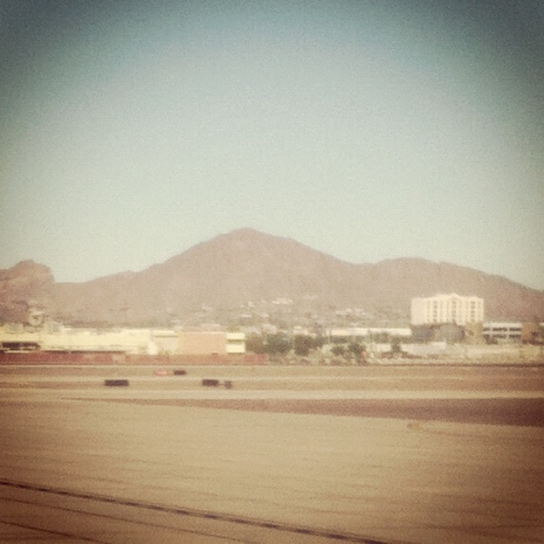 Goodbye Arizona, it's been real