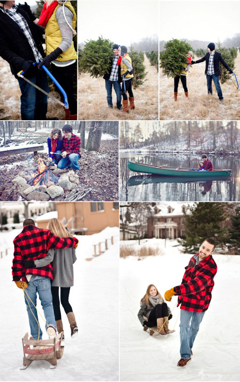 holiday engagement shoot!