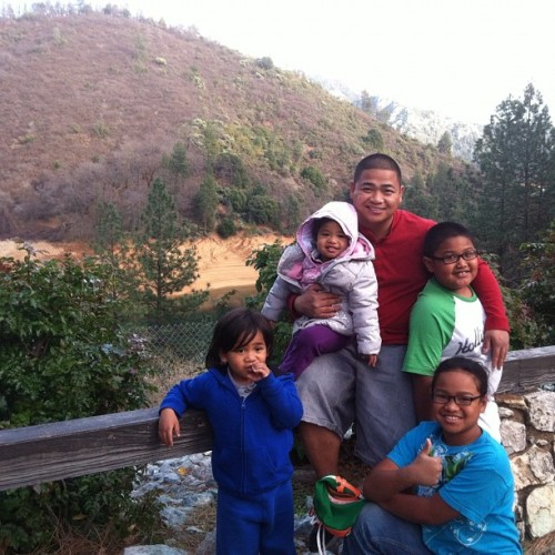 Me and the kiddos in NorCal? (Taken with instagram)