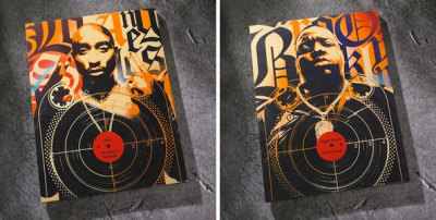 RareInk Unveils Limited Tupac, Biggie Artwork By Renowned Artists