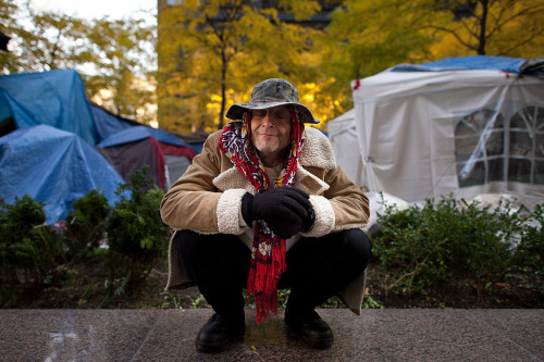 Beautiful set of portraits from Occupy Wall Street