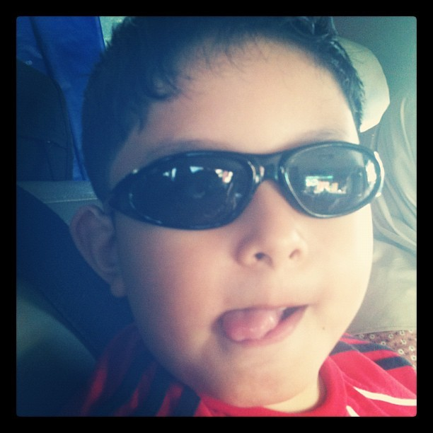 Ready for a long trip :D #arif #sunglasses (Taken with instagram)