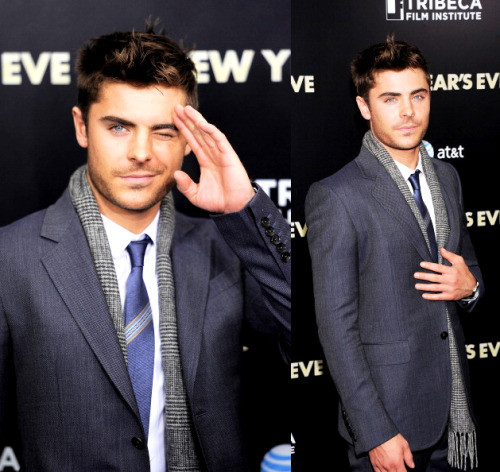 poisonparadise:   Zac Efron | New Year's Eve PremiereNYC | 12.7.11