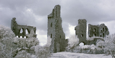 SHERRIFF HUTTON CASTLE infrared by Mark Hylton on Flickr.