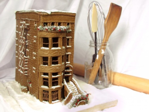 Gingerbread Brownstone [via]