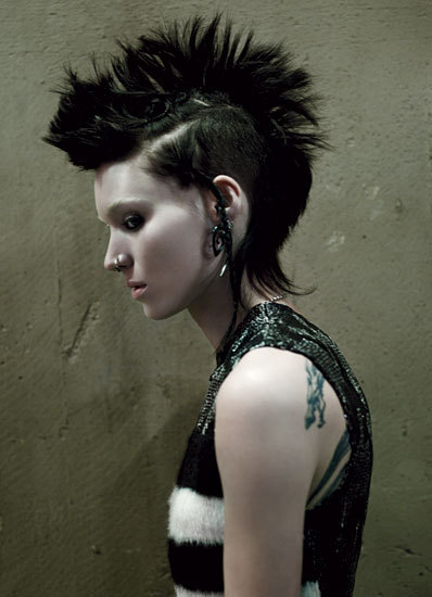 suicideblonde:  Rooney Mara as Lisbeth Salander photographed by Jean-Baptiste Mondino for W Magazine, Febuary 2011