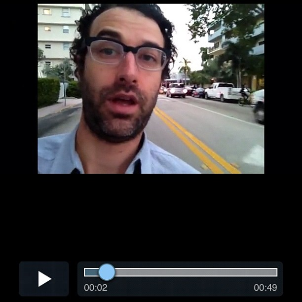 A still from my Miami video I just put up ok vimeo. Take a look http://bit.ly/urwh0p