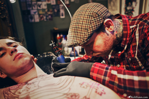 Tattoo Artists: Neil Dransfield by Rick Nunn on Flickr.