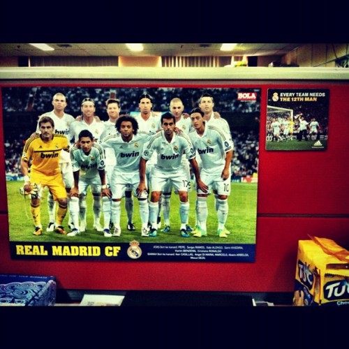 Menyambut El Clasico jilid 216. #halaMADRID (Taken with Instagram at Tabloid BOLA)