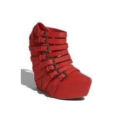 """In the spirit of the holidays"" via StyleSays Red JC $190"