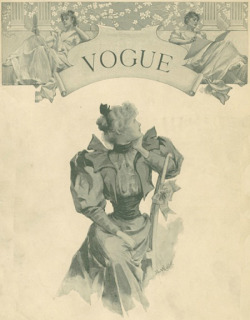 vogue first cover.