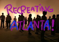 Recreating Atlanta! -album cover by Kyle Clara Christelle