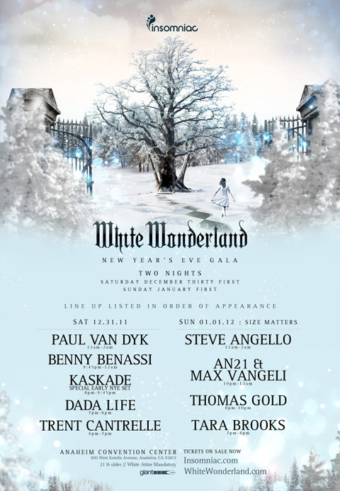 Making my return to Cali for White Wonderland 🎶 What a great way to ring in the New Year ❤