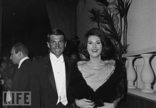 Among the unexpected attendees of the 1966 Oscars: the Secret Service, there to protect sitting U.S. President Lyndon B. Johnson's daughter Lynda Bird and her perma-tanned boyfriend, actor George Hamilton.
