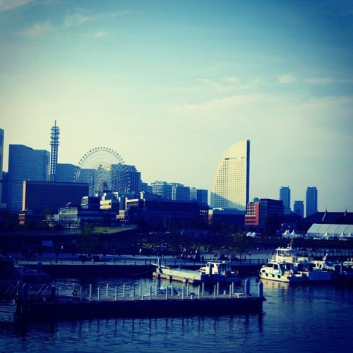 Yokohama (Taken with Instagram at みなとみらい駅 (Minatomirai Sta.))