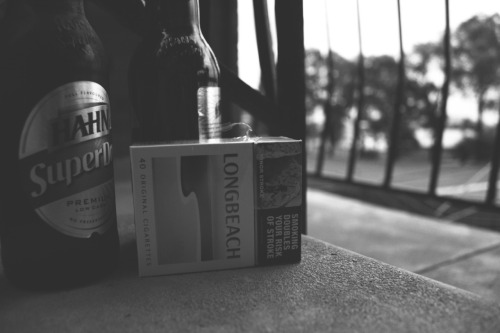 Nicotine & Alcohol: A balanced diet
