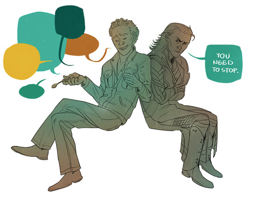 Nobody really needs to sleep anyway. Have a Tom and Loki.