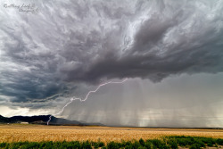 "Lightning storm by Scott Stringham ""Rustling Leaf Design"" on Flickr."