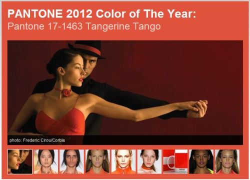 leafmag:  Pantone's 2012 Color of the Year - Tangerine Tango.  Such great possibilities for outdoor style!  We LOVE!