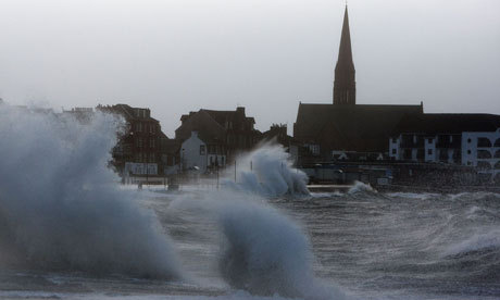 Scotland braced for hurricane force winds - follow updates live here and see the our round up of useful links and pictures on the web here.