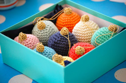 knitspirit:  Christmas Bauble tutorial
