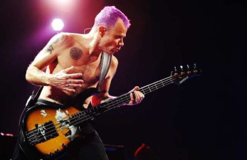 "Flea talks to the L.A. Times about RHCP's induction into the Hall of Fame.""It's very emotional, and I'm not sure where the emotions are coming  from,"" Flea said by cellphone while in Vienna on tour with the band. It's really nice to be part of a community of musicians we respect. I feel very emotional about it, and it makes me reflective  about our career. I think back about when we just started out as this  little band and we kept it going, pouring our heart and souls into it.  Pride isn't the healthiest thing, but I feel proud."" Read the full interview…"