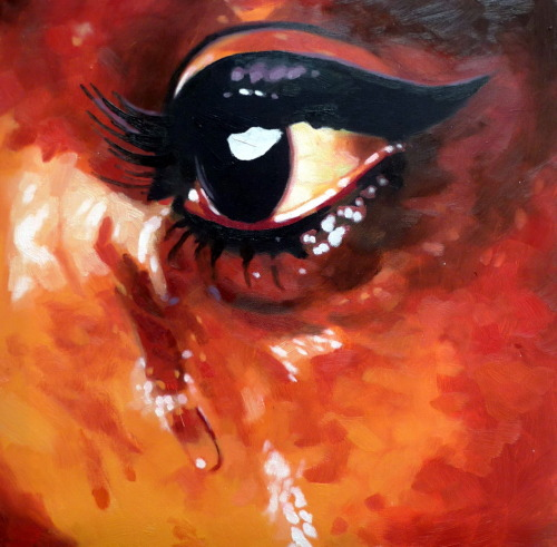 Soul tear oil on canvas