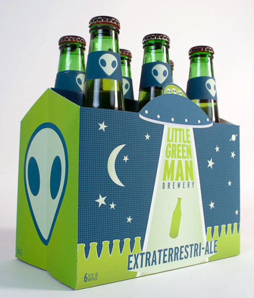 pickledesign:  Little Green Man Brewery - Bryan Barham