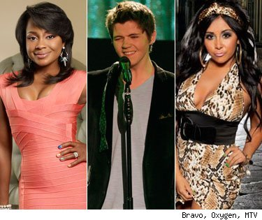 Top 11 in '11: Most Entertaining Reality TV Stars Reality TV is a breeding ground for crazy, entertaining people doing  insane watercooler-worthy things, but who do we consider the best of the  best, the most entertaining of the entertaining? Click for the full list!