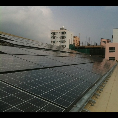#SolarGeneration #male' #Maldives  (Taken with Instagram at MCSE)