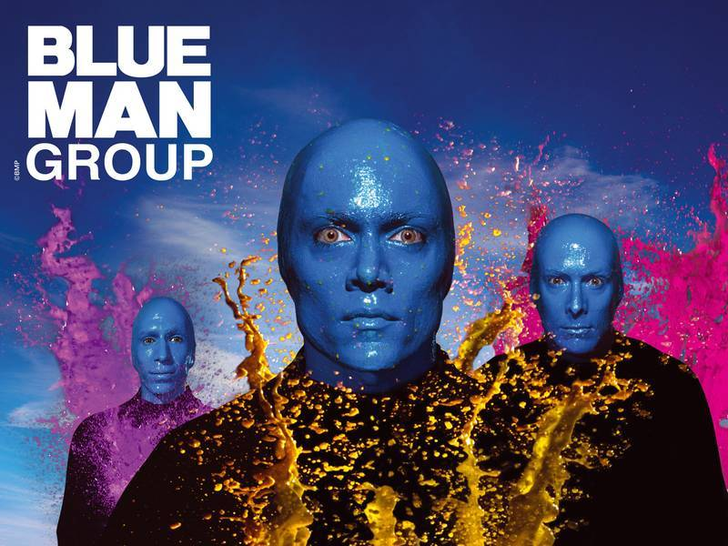 I'm going to see Blue Man Group in February!!