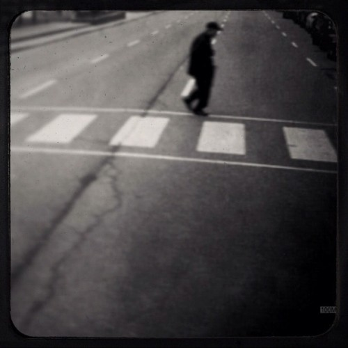 Man with Road.                                                        #iphone #mobilephotography #streetphotography #toronto  (Taken with instagram)