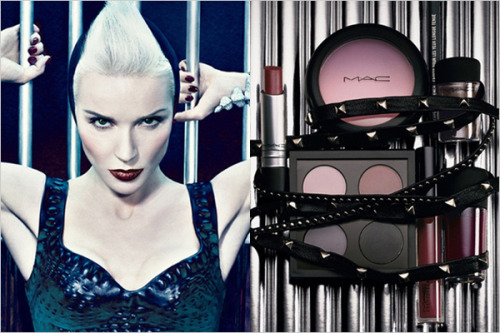 deathbydream:  Excellent.Daphne Guinness for MAC Cosmetics.
