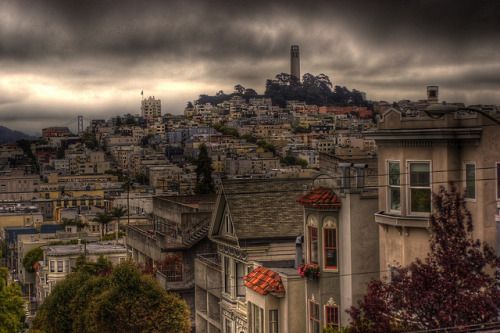 bitchwaffles:  San Francisco Skyline by Gaithersburg Photographer on Flickr.