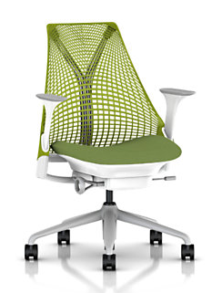 Herman Miller Sayl Chair by Yves Bahr I'm moving out to the new residence. Therefore, I need a new desk chair and desk. After all intense researches both offline and online, I reached the conclusion that this Sayl Chair might be the best ergonomics chair offered under $500. Since I'm always sitting on my chair when I'm in my house a desk chair is the most important furniture for computer person like me.  This vid pretty much describes what's special about this chair:  As all ergonomist know, the most important factor for this kind of chair is lumber support. Their lumber support mechanism looks very reasonable to me: The back support shape is respectively help L5/S1 section of the lumber, and flexible material guarantees degree of freedom on my lumber movement. Arm rest height adjustment, chair height adjustment, and lumber support angle adjustment are also quite nicely implemented (Well, but if you add all adjustment options, it will cost you like $900, though). The cushion is somewhat questionable since it is very thin and I'm not sure if my butt can get hurt or not. The chair will arrive in January. Let's see how good this chair is then.