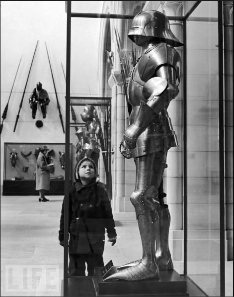 Boy at the Met, 1929LIFE Magazine