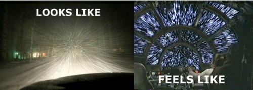 Everytime it snows…..