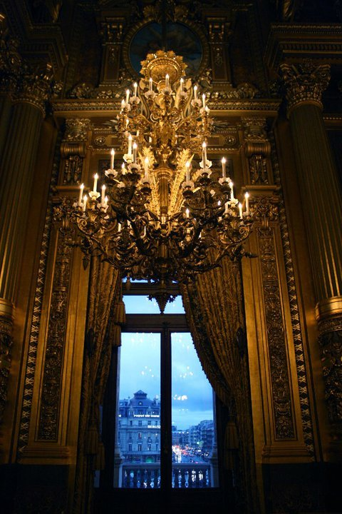 everythingmeanseverything:  view from inside the palais garnier, paris *