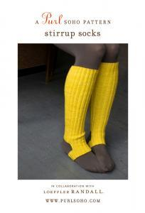 Stirrup Socks Pattern (via purl soho)