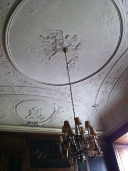 Hunting Room ceiling.