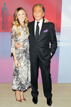 Sarah Jessica Parker, Claire Danes, and more toast Valentino's Virtual Museum.