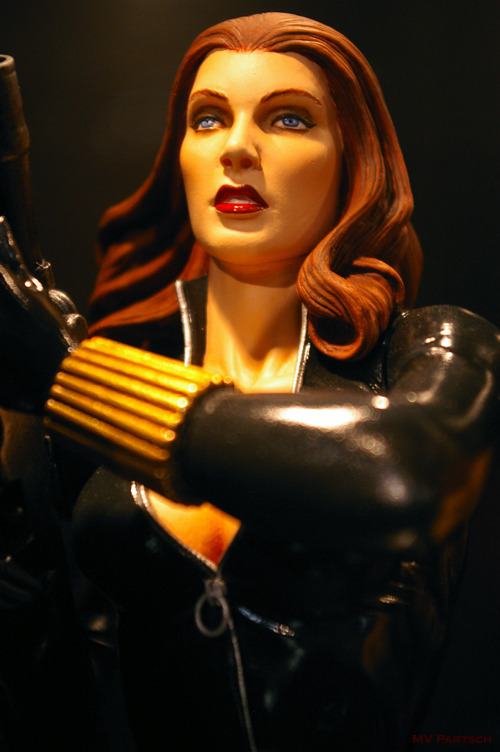 Natasha Romanoff: Чёрная вдова (The Black Widow): Agent of S.H.I.E.L.D. Comic-Con. San Diego. 2011. Gentle Giant Studios Pavilion.