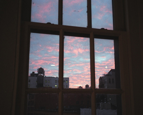 I love pictures of the sky through a window