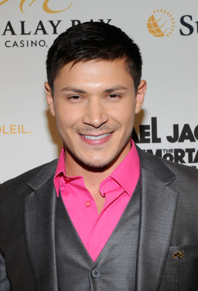 Alex Meraz | Michael Jackson THE IMMORTAL World Tour by Cirque du Soleil in Las Vegas - December 3, 2011