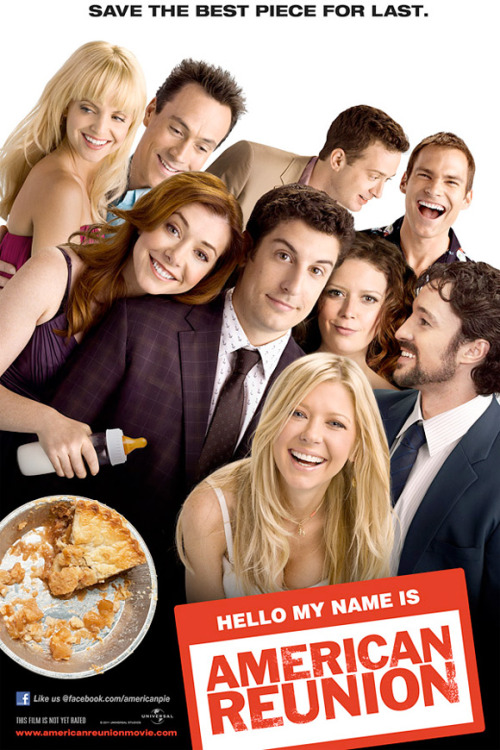imwithkanye:  danhacker:  The New 'American Reunion' Poster Is A Photshopped Mess It's commendable that the new 'American Reunion' poster pays homage to the first 'American Pie' poster, but that still doesn't save this poster from being an absolute mess. A few things about this poster. Why is Kevin (Thomas Ian Nicholas) looking at Jim like he wants to be inside him. Oz (Chris Klein) is also giving Jim the very same look but from a really awkward angle. Remember when Natasha Lyonne was cracked-out of her mind and molested someone's dog. Yeah, well She doesn't look like herself anymore. Some might remember her from an episode of 'New Girl' earlier this season where she looked super rough. Kind of like herself but wearing a Natasha Lyonne sweaty fat suit. That isn't  Tara Reid circa 2011, because she hasn't looked that cleaned up since 2001. Where is Tara Reid even coming from? She looks like she belongs on an entirely different movie poster What is Eddie Kay eThomas doing? (he's staring into the void that is Sean William Scott's perfect toothy smile). Chris Klien tiny cocaine eyes. Was anyone really demanding this movie?  There's sooo much terrible photoshop going on here.  #PhotoshopDisaster.Blogspot.com