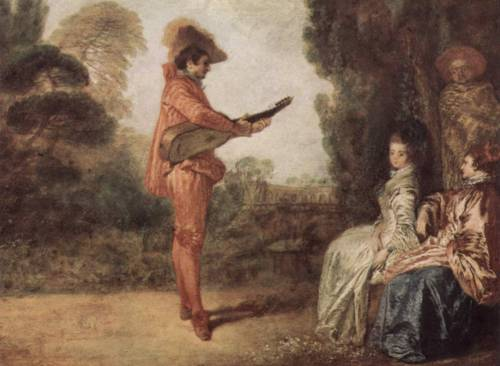 "This one is called ""The Seducer."" Thanks Antoine Watteau for making my ""job"" easier."