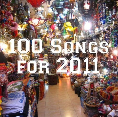 My friend Aaron rates his top 100 songs for each year, with the painstaking effort of a college student skipping class and shutting off the world to search for deeper meaning within the bars of indie rock and hip-hop tracks.  It's awesome and he usually unearths a lot of gems before they would otherwise come across my XM in the car, if ever. I used to listen to dozens of albums each year, but for whatever reason, I've cut down on searching out most new music. This cuts out the work. [Tip of Your Tongue, Top of My Lungs]