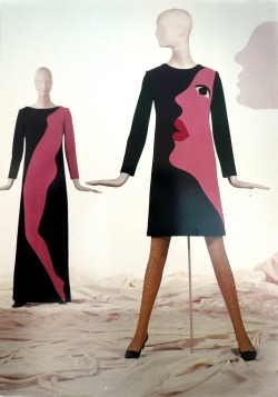 Vintage Yves Saint Laurent Fall 1966 'Pop art' Dresses