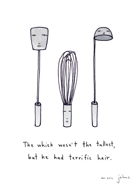 urhajos:  Marc Johns   This would be a perfect print to frame and hang in a future kitchen.