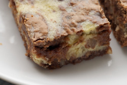 Hazelnut Cream Cheese Brownies click image for recipe